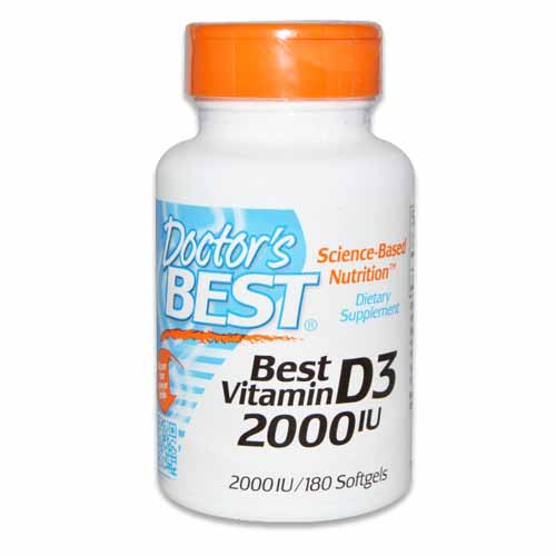 DOCTORS BEST VITAMIN D3 2,000 IU